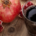 drinking Pomegranate juice to lower blood pressure